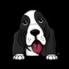 Basset Hound Black