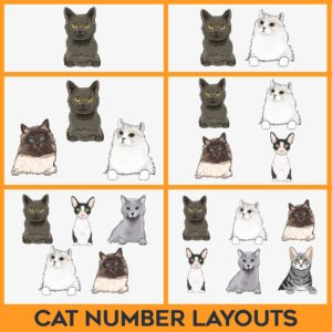 Cat Number Layouts