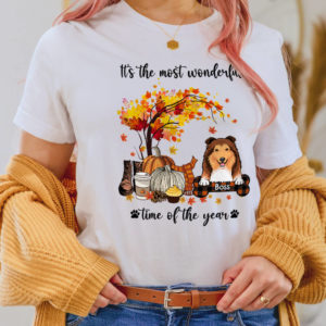 Personalized Fall Halloween Its The Most Wonderful Time Of The Year Custom Dog Shirt2