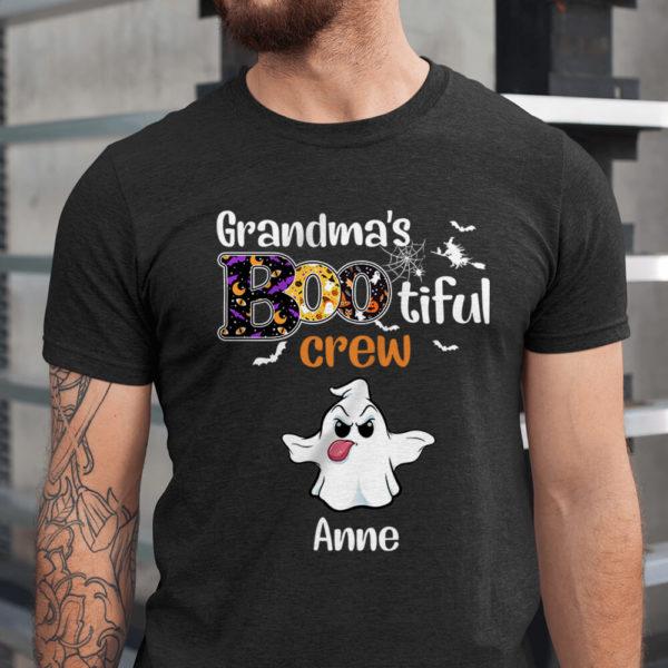 Personalized Grandma's Bootiful Crew Halloween Custom Shirt1