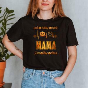 Personalized Grandma Live Love Spoil Halloween Custom Shirt2