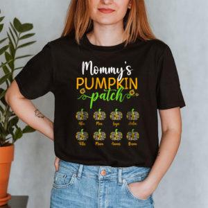 Personalized Grandmas Pumpkin Patch Fall Halloween Custom Shirt2