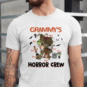 Personalized Halloween Grandmas Horror Crew Custom Halloween Shirt1