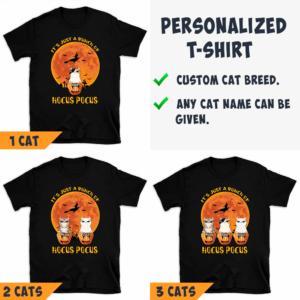 Personalized Halloween It's A Bunch Of Hocus Pocus Custom Cat