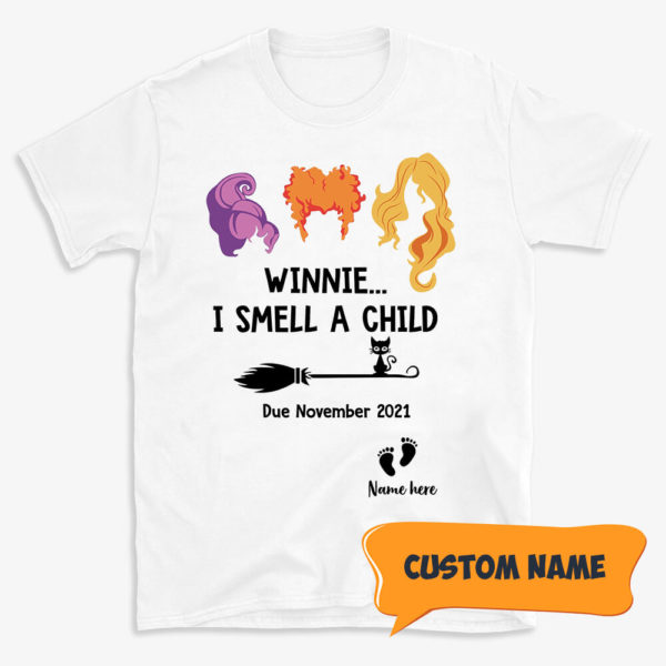 Personalized I Smell a Child Custom Halloween Shirt