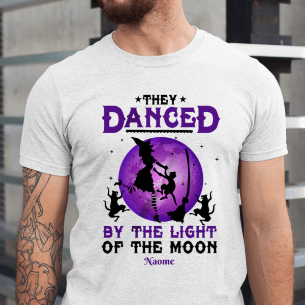 Personalized They Danced By The Light Of The Moon Custom Halloween Shirt1