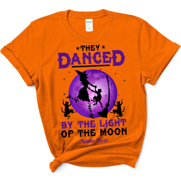 Personalized They Danced By The Light Of The Moon Custom Halloween Shirt3