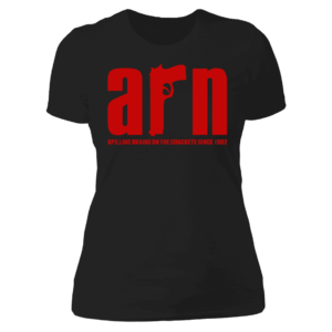 Arn Anderson Spiling Brains On The Concrete Since 1982 Ladies Boyfriend Shirt