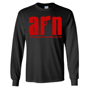 Arn Anderson Spiling Brains On The Concrete Since 1982 Long Sleeve Shirt
