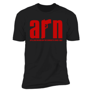 Arn Anderson Spiling Brains On The Concrete Since 1982 Premium SS T-Shirt