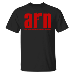 Arn Anderson Spiling Brains On The Concrete Since 1982 Shirt