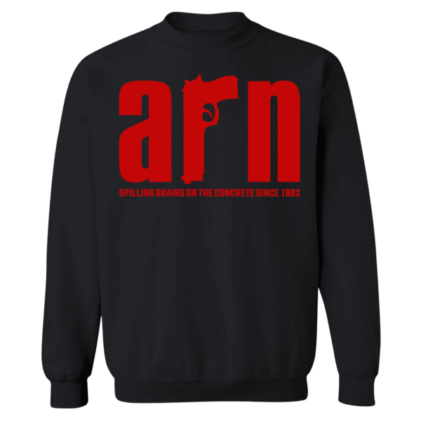 Arn Anderson Spiling Brains On The Concrete Since 1982 Sweatshirt