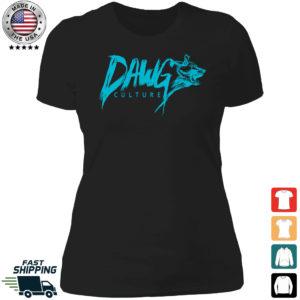 Dawg Culture Ladies Boyfriend Shirt