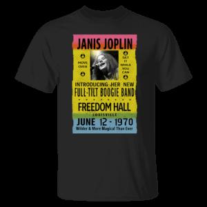 Janis Joplin Freedom Hall Shirt