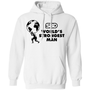 Mens SBD World's Strongest Man Hoodie