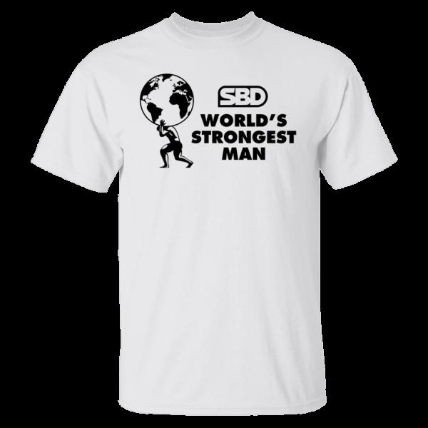 Mens SBD World's Strongest Man Shirt
