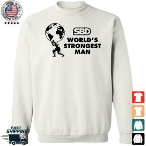 Mens SBD World's Strongest Man Sweatshirt