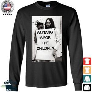 Wu Tang is For The Children John Lennon Long Sleeve Shirt