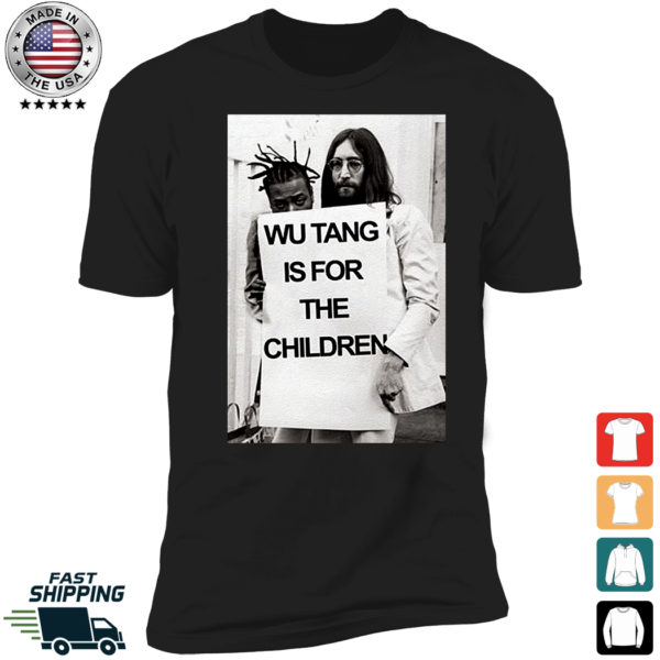Wu Tang is For The Children John Lennon Premium SS T-Shirt