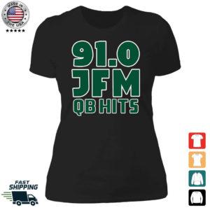 91.0 JFM QB Hist Ladies Boyfriend Shirt