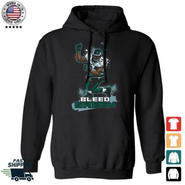 Bleed Green Jeremiah Trotter Hoodie