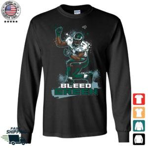 Bleed Green Jeremiah Trotter Long Sleeve Shirt