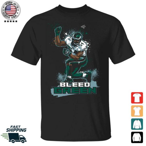 Bleed Green Jeremiah Trotter Shirt