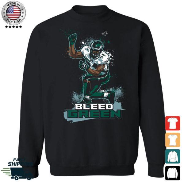 Bleed Green Jeremiah Trotter Sweatshirt