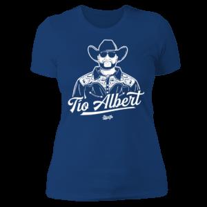 Bleed Los Tio Albert Ladies Boyfriend Shirt