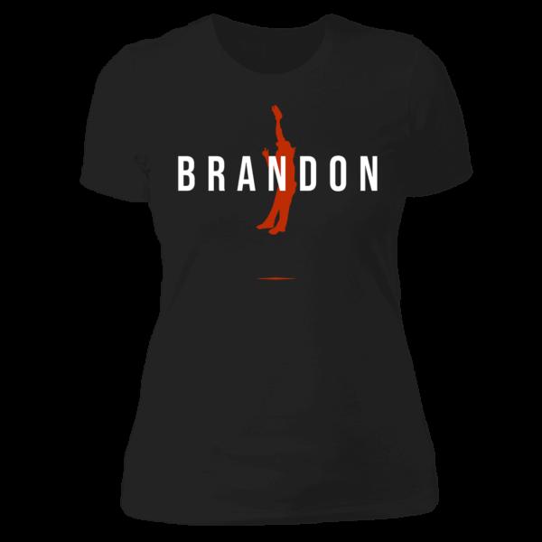Brandon Crawford Ladies Boyfriend Shirt