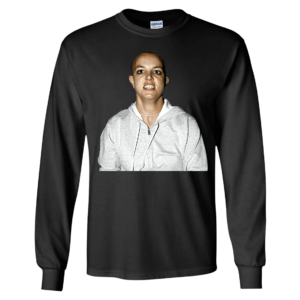 Britney Spears Shaved Head Long Sleeve Shirt