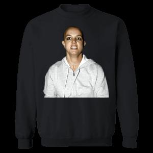 Britney Spears Shaved Head Sweatshirt