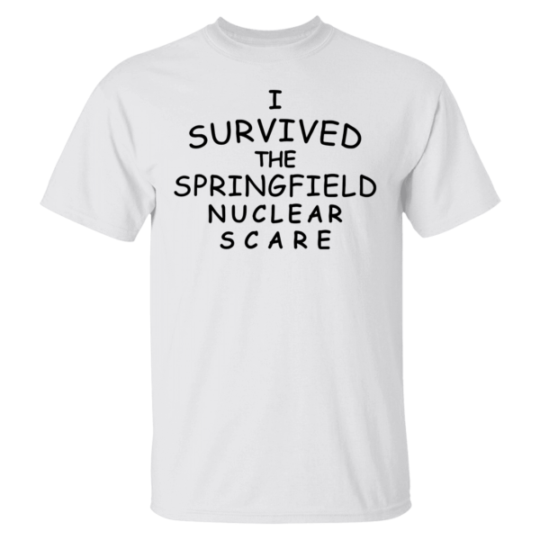 I Survived The Springfield Nuclear Scare Shirt