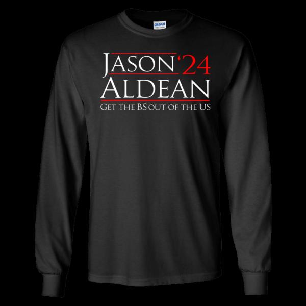 Jason 24 Aldean Long Sleeve Shirt