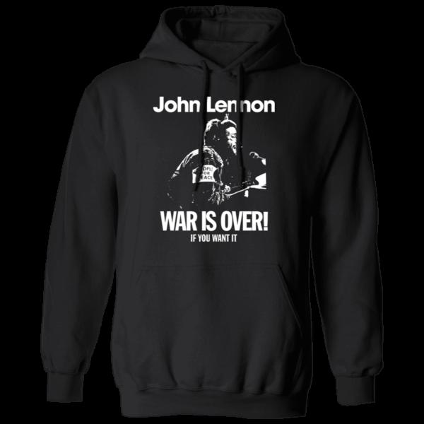 John Lennon War Is Over Hoodie
