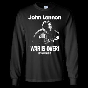 John Lennon War Is Over Long Sleeve Shirt
