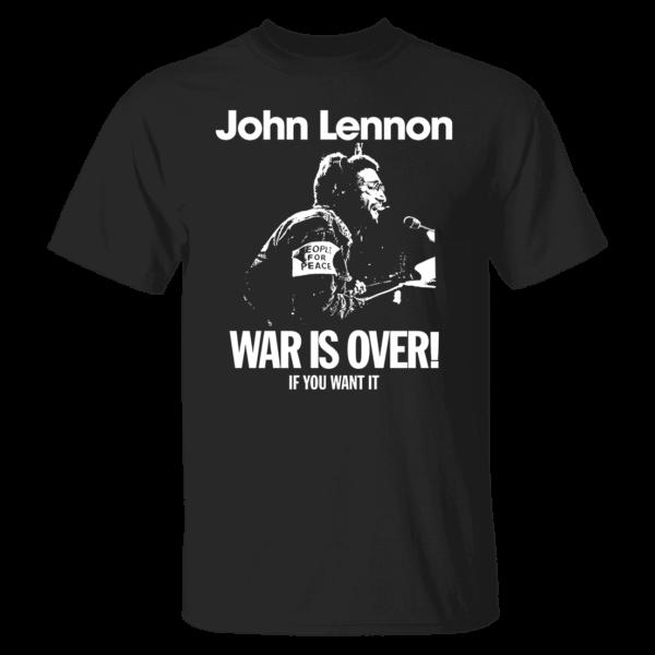 John Lennon War Is Over Shirt