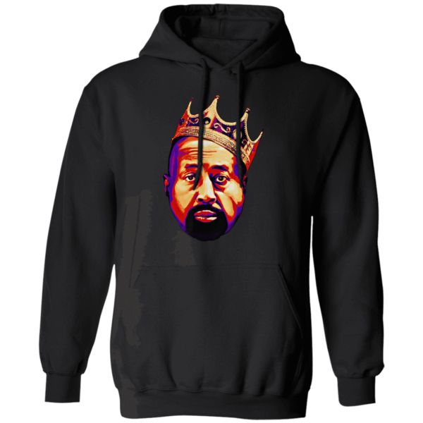 Mike Woodson With Crown Hoodie
