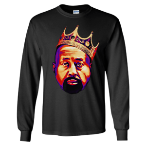 Mike Woodson With Crown Long Sleeve Shirt