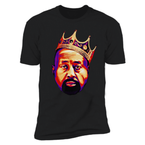 Mike Woodson With Crown Premium SS T-Shirt