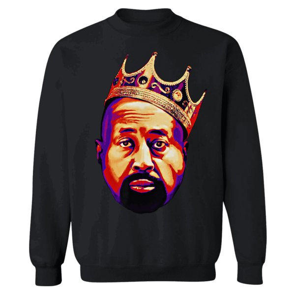 Mike Woodson With Crown Sweatshirt