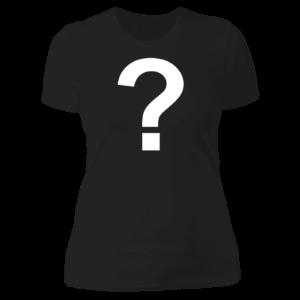 Mythical Mystery Ladies Boyfriend Shirt