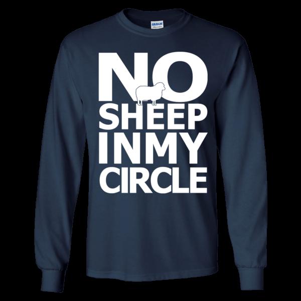 No Sheep In My Circle Long Sleeve Shirt