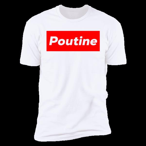 Poutine Box Logo Novelty Premium SS T-Shirt