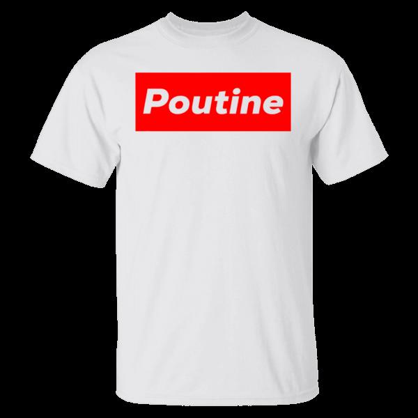 Poutine Box Logo Novelty Shirt
