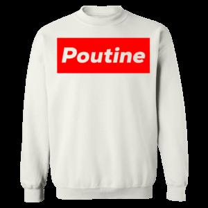 Poutine Box Logo Novelty Sweatshirt