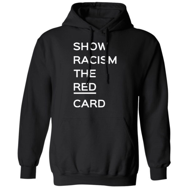 Ross County fan Show Racism the Red Card Hoodie