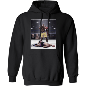 Shaquille O'neal And Chuck Knockout Ladies Boyfriend Hoodie