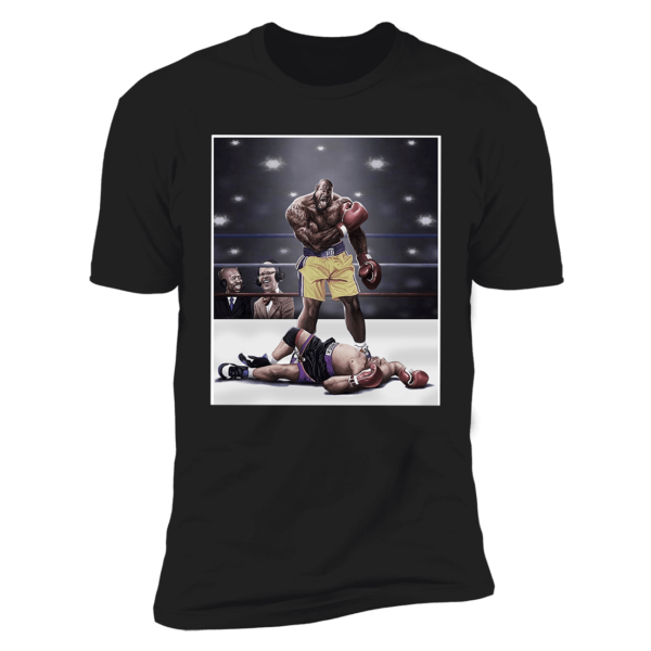 Shaquille O'neal And Chuck Knockout Premium SS T-Shirt