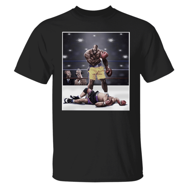 Shaquille O'neal And Chuck Knockout Shirt